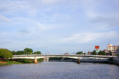 Nakhonping Bridge Stock Image