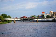 Nakhonping Bridge Royalty Free Stock Photo