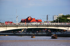 Nakhonping Bridge Stock Photography