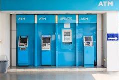 Nakhonratchasima,泰国2016年3月13日:ATM machi的驻地 库存图片