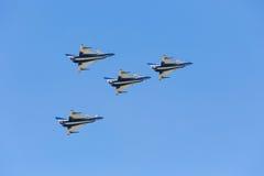 Nakhonratchasima, ΤΑΪΛΑΝΔΗ στις 26 Νοεμβρίου 2015: F-16 Gripen και Au Στοκ Εικόνες