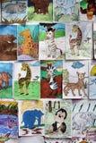 NAKHONRATCHASIMA, TAILANDIA - ENERO 5,2014: Co de dibujo animal Fotografía de archivo libre de regalías