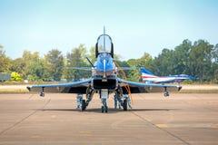 Nakhonratchasima, THAILAND am 27. November 2015: F16 Gripen und Au Stockfoto