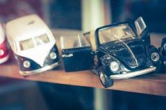 Nakhonsawan,泰国, 2017年4月19日:可收回的玩具模型汽车 免版税库存照片