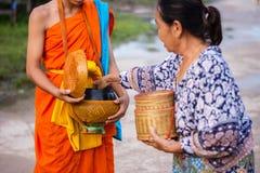 "Nakhonsawan, †de Tailândia ""o 12 de outubro: Cada dia muito cedo no Fotos de Stock"