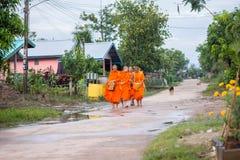 """Nakhonsawan, †de Tailandia """"12 de octubre: Cada día muy temprano en Imagen de archivo libre de regalías"""