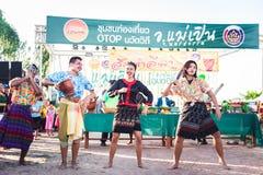 Nakhonsawan, †della Tailandia «21 settembre 2018: la gente che ha papay fotografie stock