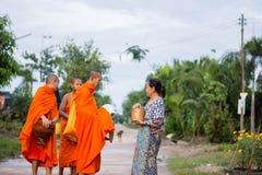 "Nakhonsawan, Thailand †""12 Oktober: Elke dag zeer vroeg in Royalty-vrije Stock Afbeelding"