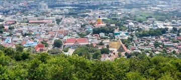 Nakhonsawan, Thailand. Bird view cityscape of Nakhonsawan, Thailand Stock Images