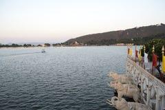 湖nakki 图库摄影