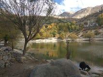 Nako lake. Lake mesmerising beauty nako distt kinnaur Royalty Free Stock Photography