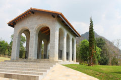 NAKORN RATCHASIMA THAILAND -2014 FEB 25 : Primo Piazza Khao Yai,Tuscana-village Italian style building Stock Images
