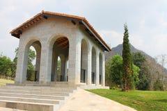 NAKORN RATCHASIMA THAILAND -2014 AM 25. FEBRUAR: Primo Piazza Khao Yai, italienisches Artgebäude des Tuscana-Dorfs Stockbilder