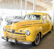 NAKORNPATHOM,THAILAND - JUNE 20 - Classic Ford on JUNE 20 Royalty Free Stock Images