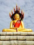 Nakornrachasrima, 12 Thailand-Augustus, 2014: Boeddhisme stutue Stock Fotografie