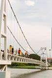 NAKORNSAWAN, Таиланд - 18-ое августа 2014: NAKORNSAWAN, THAILAND-JU Стоковое Фото