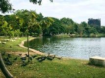 Nakornsawan& x27;s park stock image