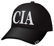 Nakrętka CIA ilustracja wektor