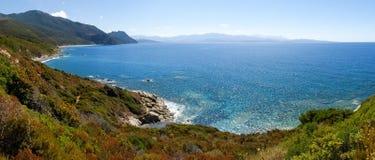 Nakrętka Corse plaża Nonza Fotografia Stock