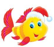 nakrętki bożych narodzeń korala rybi target2039_0_ royalty ilustracja
