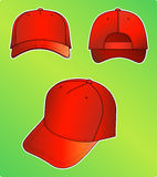 nakrętki czerwień royalty ilustracja