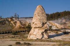 nakrętki gorący swobody mamuta wiosna tarasy Zdjęcie Stock