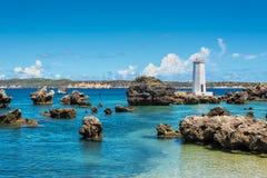 Nakrętki Kopalniana latarnia morska, Madagascar, Wschodnie Afrykańskie wyspy, Afryka Obrazy Royalty Free