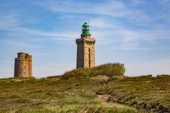 Nakrętka Frehel, Brittany - Francja Zdjęcie Royalty Free