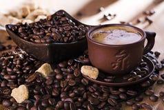 Nakrętka kawa Zdjęcie Stock