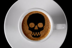 Nakrętka kawa Zdjęcia Stock