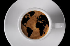 Nakrętka kawa Obrazy Royalty Free