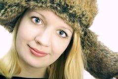 nakrętka ucho trzepocze kobiety Obrazy Stock