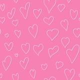 Nakreślenia serce w rocznika stylu Obrazy Stock