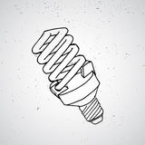 Nakreślenie lampa Obrazy Royalty Free