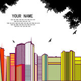 nakreślenie miastowy Fotografia Stock