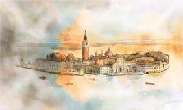 Nakreślenie San Giorgio Ilustracji