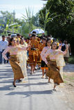 NAKRONPHATHUM THAILAND -JULY 6: Wedding ceremony July 6 2014, Th Stock Photo