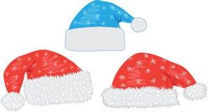 nakrywa boże narodzenia Santa Fotografia Royalty Free