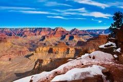nakrywający ślad w światu Uroczystego jaru Sławnym parku narodowym, Arizona, Stany Zjednoczone Zdjęcia Stock