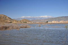 Hemet krajobraz Zdjęcia Stock
