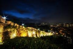 Naksan fortecy ściana Obraz Royalty Free