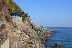 Naksansa (Koreaanse Boeddhistische complexe Tempel) Stock Afbeeldingen