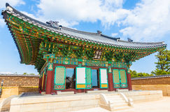Naksansa (Korean Buddhist Temple complex) in Sokcho, South Korea. Stock Images