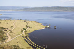 Nakuru National Park Landscape, Kenya Stock Photography