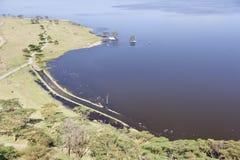 Nakuru National Park Landscape, Kenya Royalty Free Stock Photo