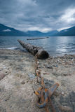 Nakusp British Columbia. Upper Arrow Lake, Nakusp, British Columbia Royalty Free Stock Image