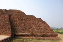 Nalanda Brick Pyramid Stock Images