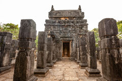 Nalanda Gedige,  ancient complete stone building near Matale, Sr Royalty Free Stock Images