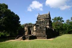 Nalanda Gedige au Sri Lanka. Images libres de droits
