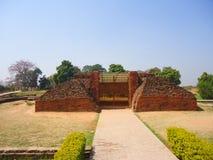 Nalanda universitet Royaltyfria Bilder